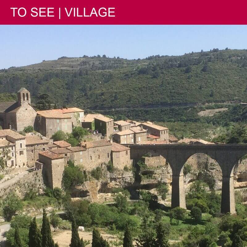 Impressive nature and history in Minerve