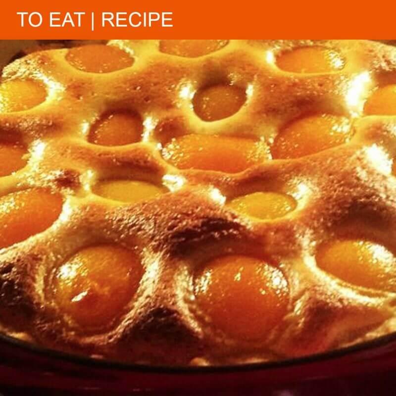 The best gâteau aux abricots ever