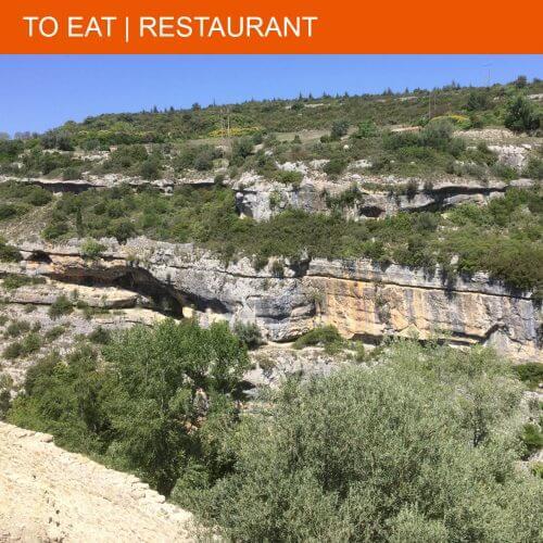 Restaurant Relais Chantovent has a view you won't believe