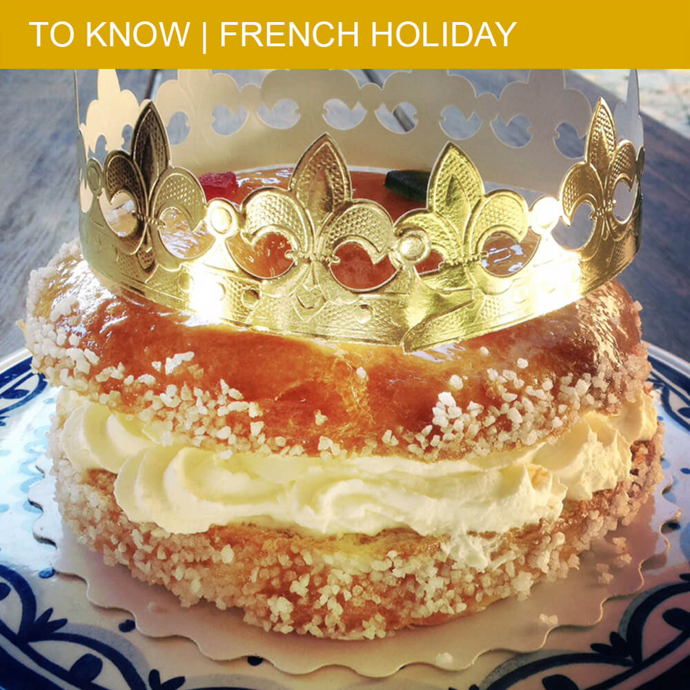 A Royal Galette des Rois on Epiphany Day