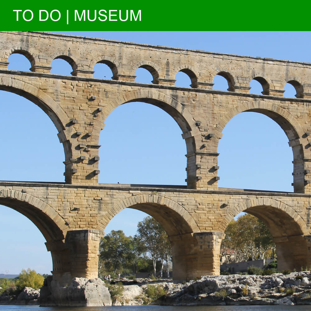 The best flight routes to languedoc la ramoneta for Pont du gard architecte