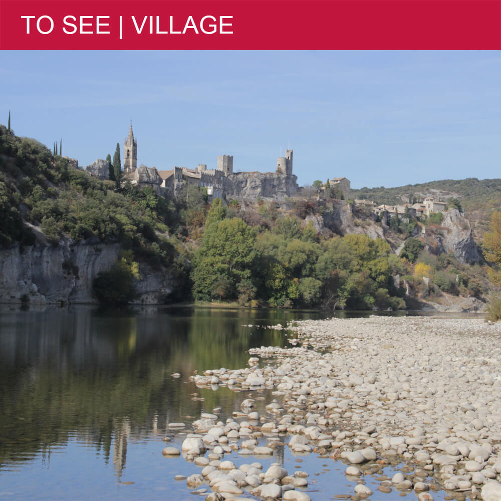 The most beautiful villages of the Gard department