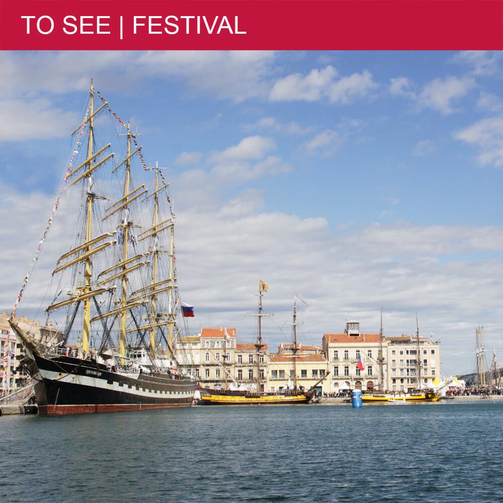 Great maritime festival Escale à Sète