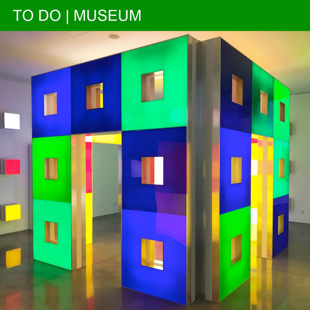 Inspirational contemporary art museum in Sérignan