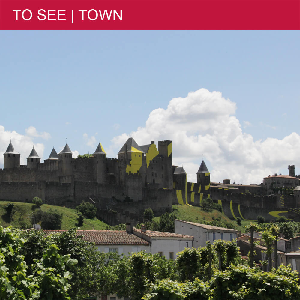 Part 1: History and modern art in medieval Carcassonne