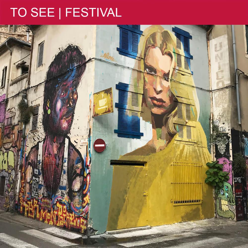 Amazing graffiti festival during Expo de Ouf in Nîmes