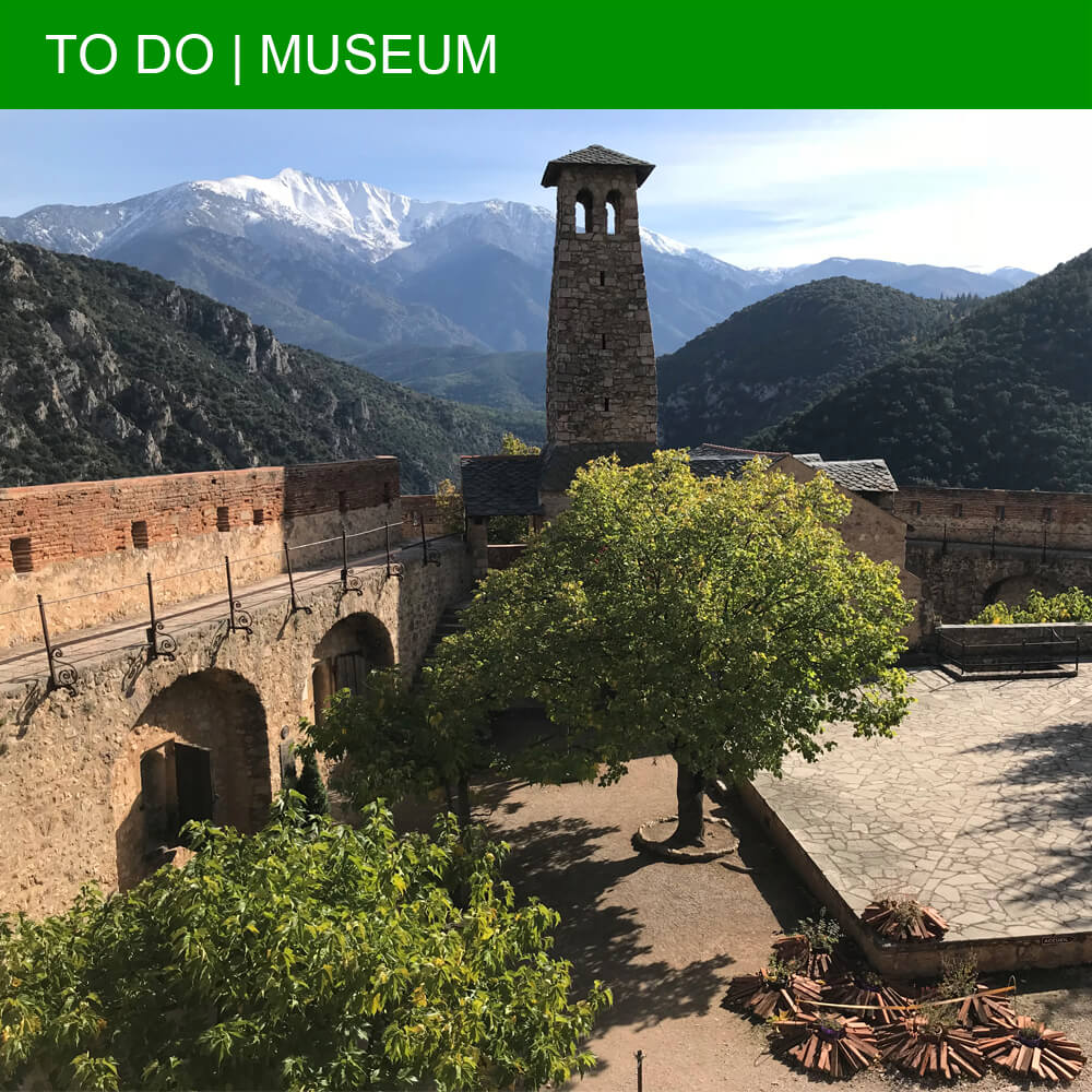 Breathtaking views at Fort Libéria in Villefranche-de-Conflent