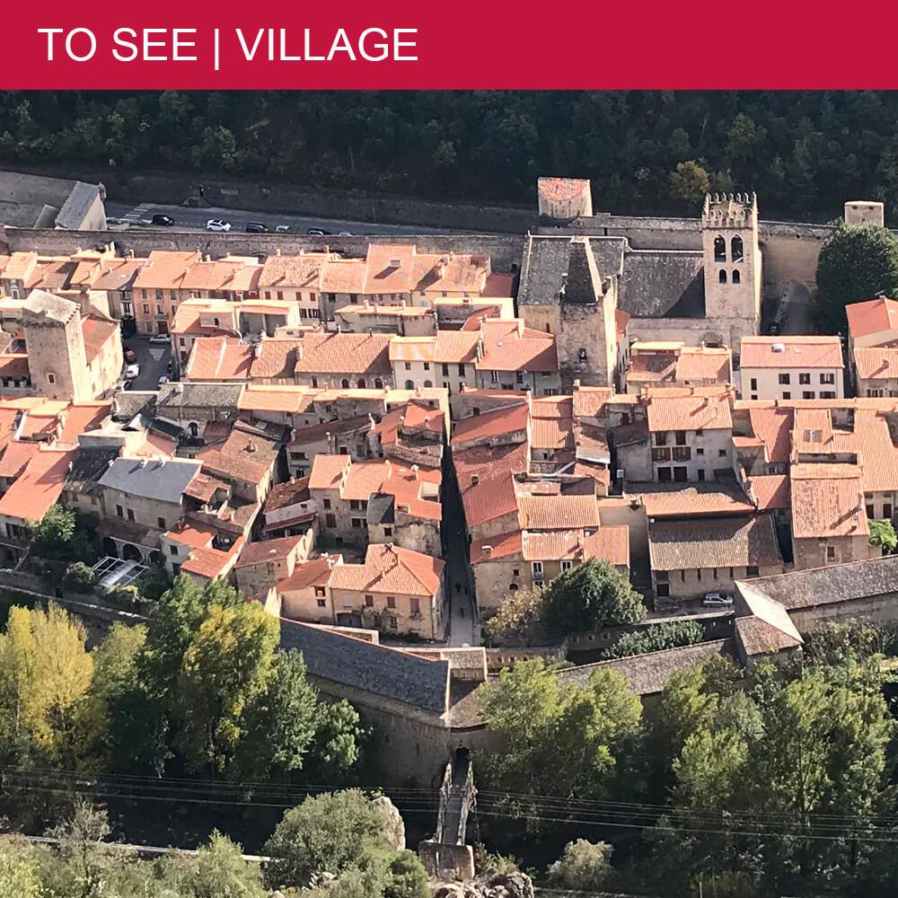 "Villefranche-de-Conflent merits its ""Most Beautiful Village of France"" label"