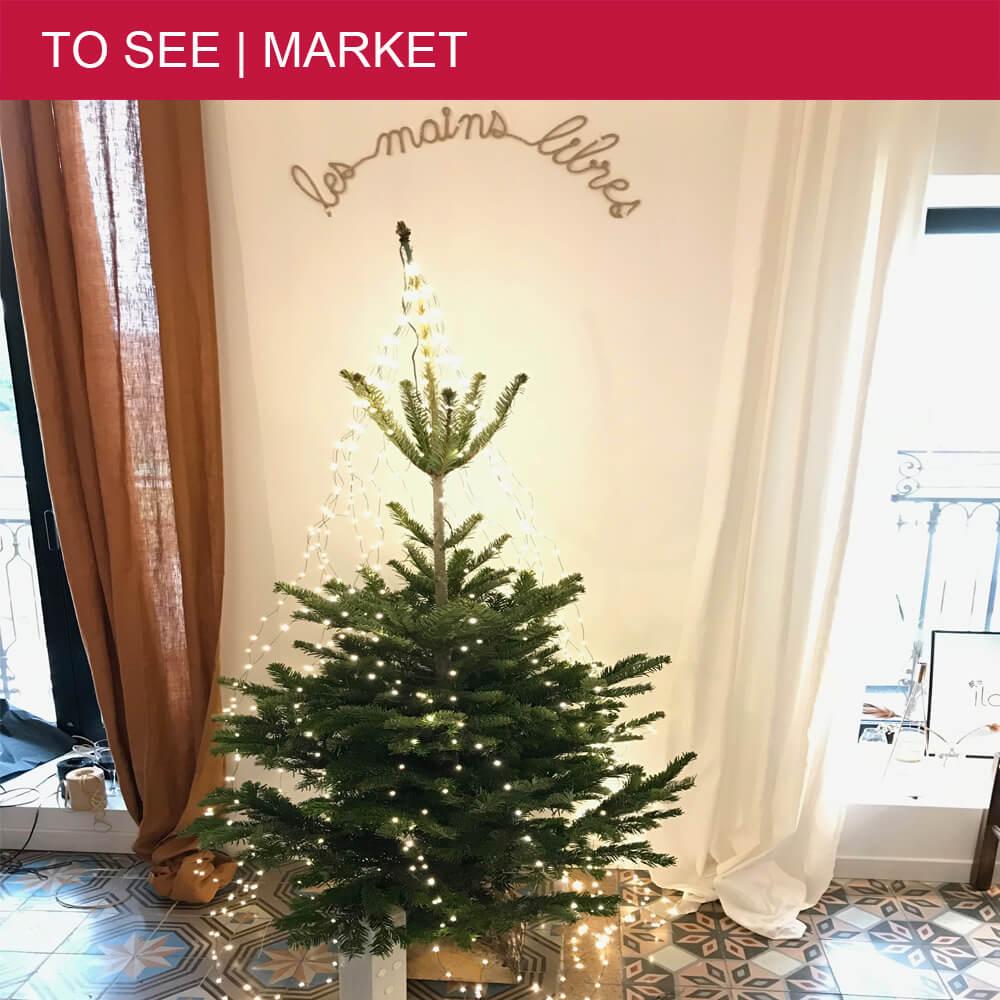 Les Mains Libre's Christmas market at Béziers' Padel Club