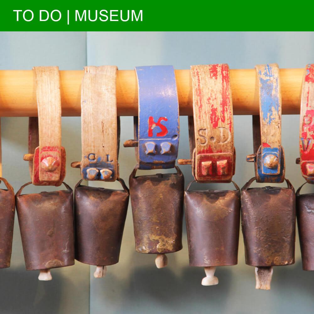 The Musée de la Cloche et de la Sonnaille in Hérépian lets you play with its collection of bells