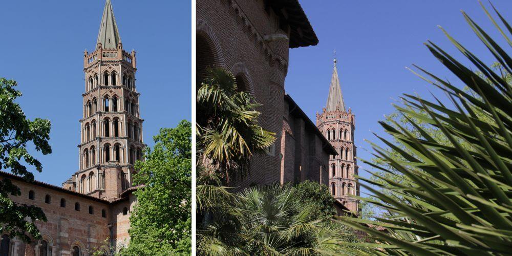 The Saint-Sernin basilica