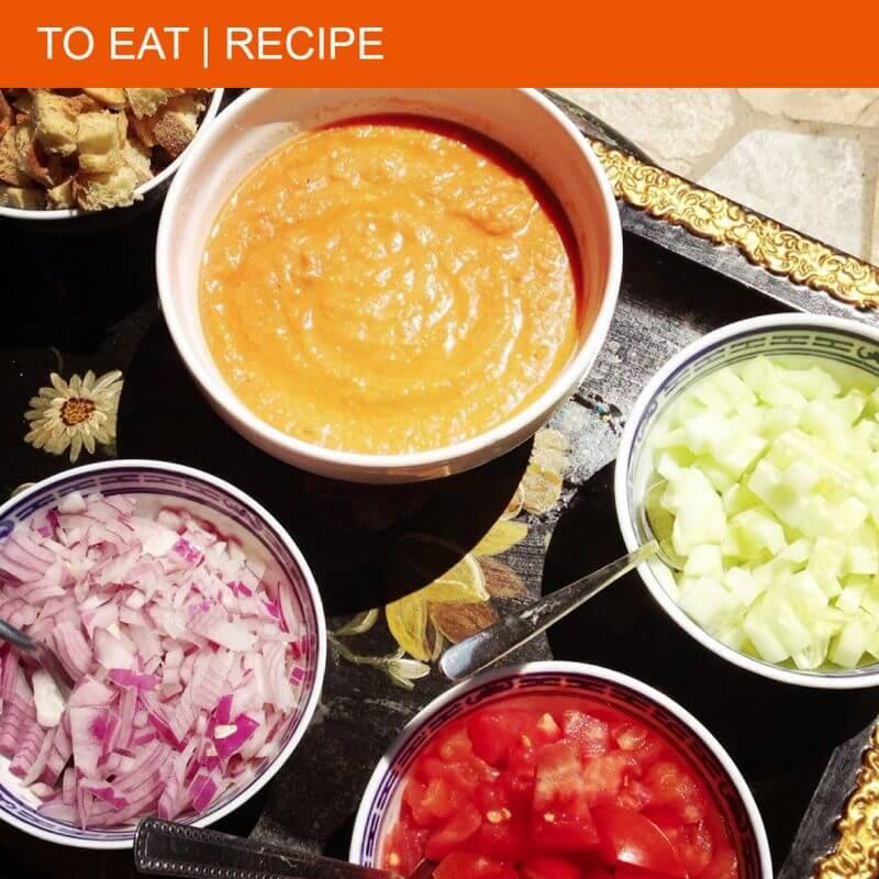 The perfect recipe for gazpacho