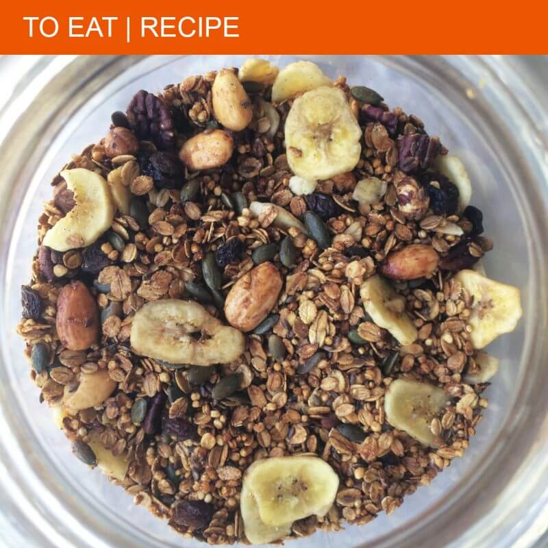 La Ramoneta's recipe for homemade granola