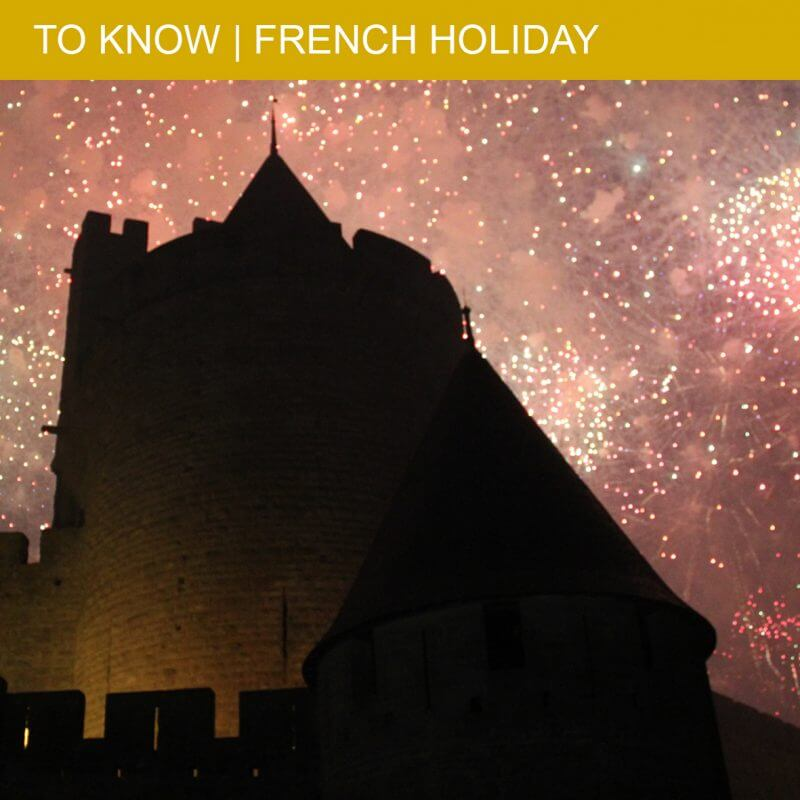 14 July: dancing and fireworks on a typical French holiday