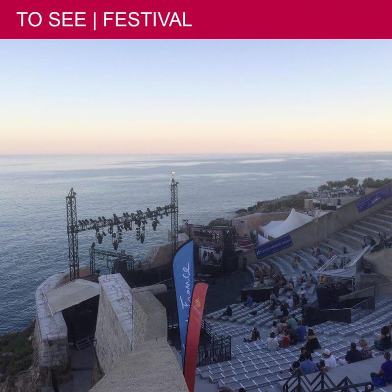 Worldwide Festival at the magical Théâtre de la Mer in Sète