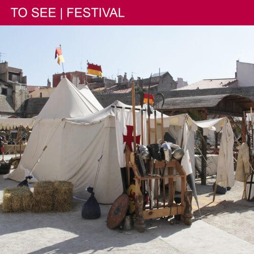 Travel back in time during Les Trobades Médiévales in Perpignan