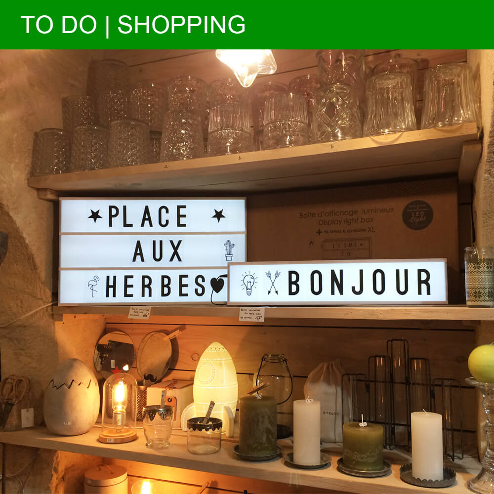 The best shopping finds in Uzès