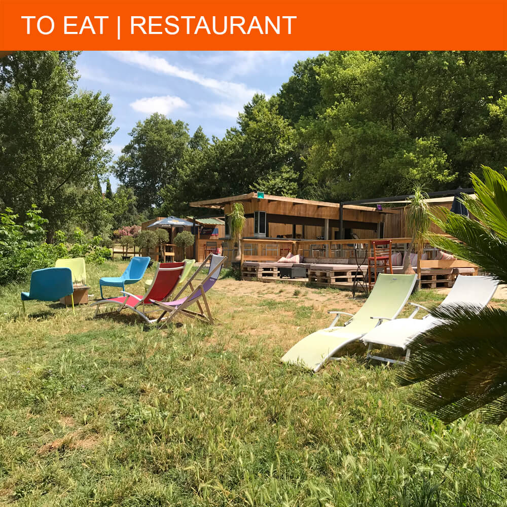 Lazy Summer lunch at Guinguette La Laiterie in Béziers