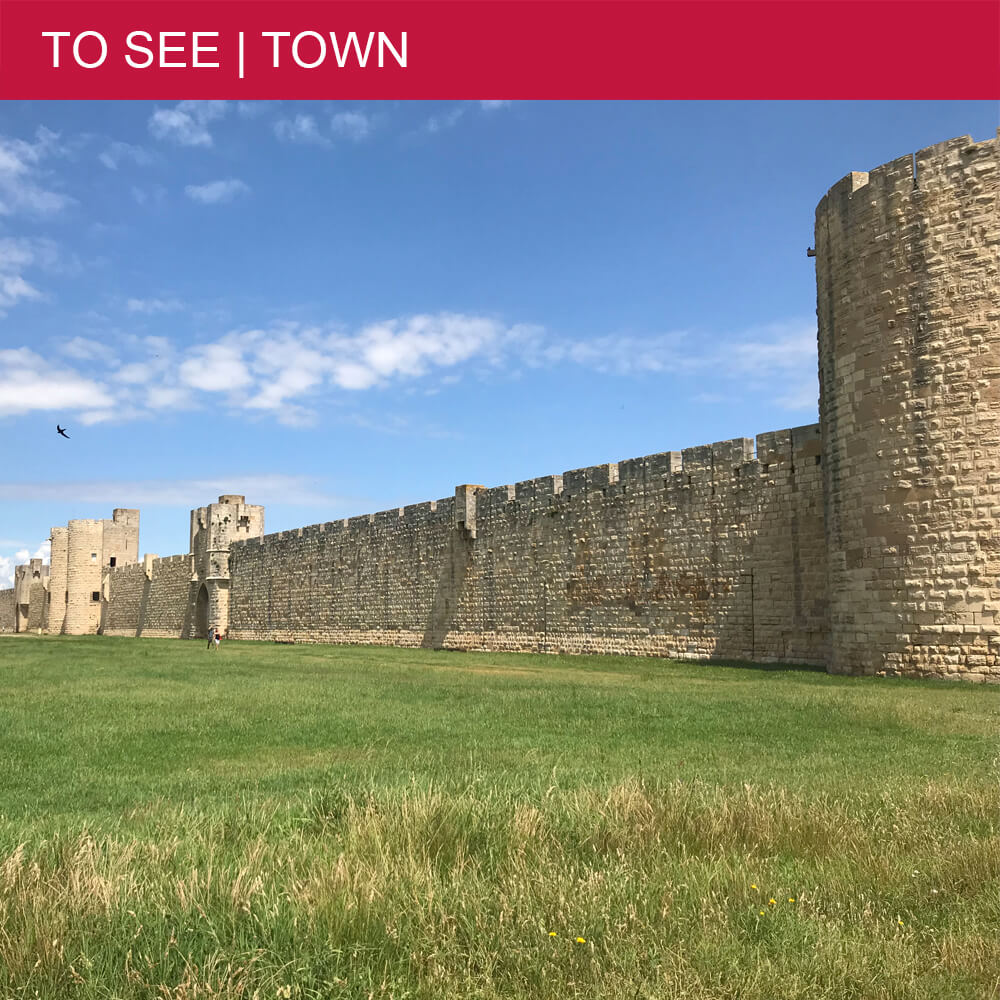 Part 2: Visiting the ramparts and donjon of Aigues-Mortes