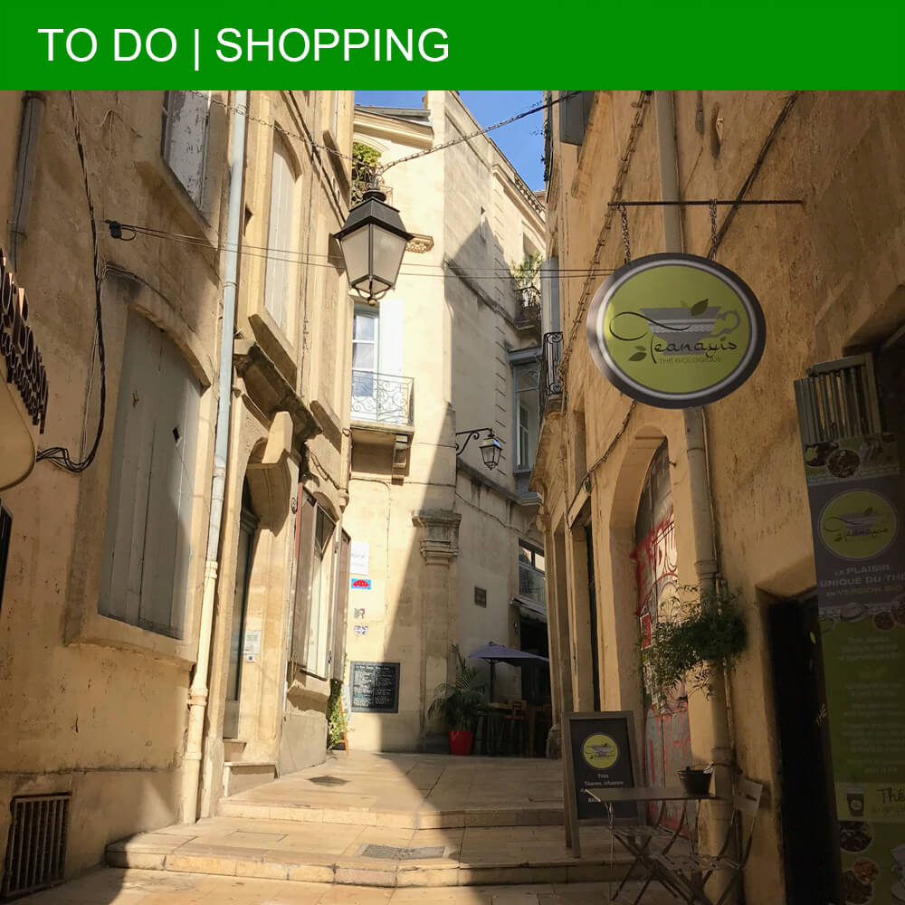 Shopping guide to Montpellier