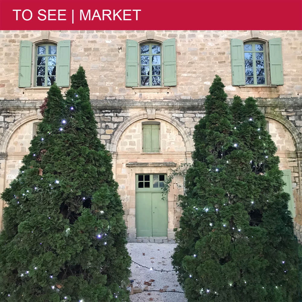 First Christmas market of the year at the Cracker Fair at Abbaye de Valmagne