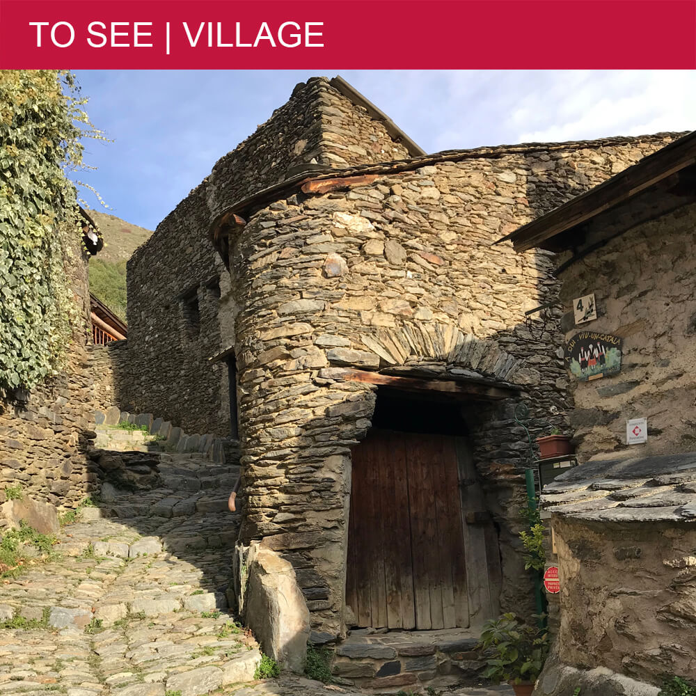 The authentic hamlet of Évol is worth a detour