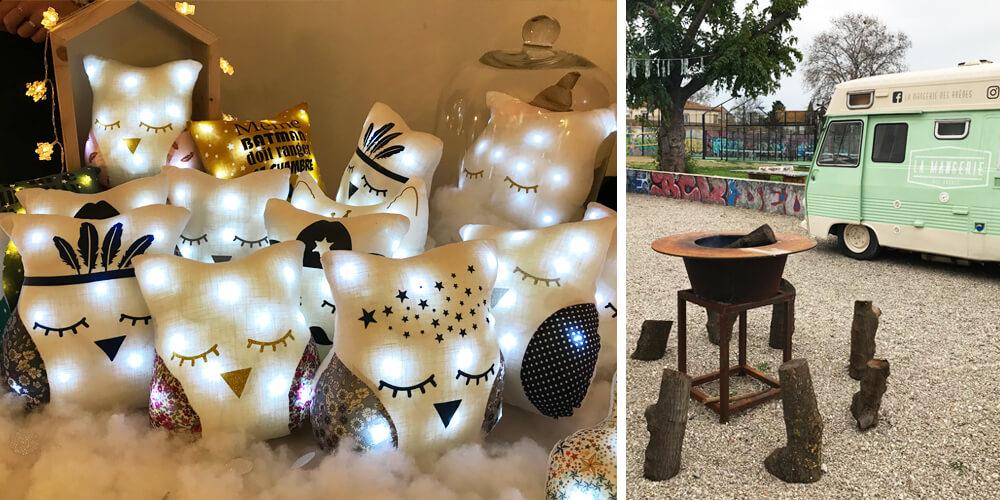 Les Mains Libre's Christmas market - Bézier's Padel Club
