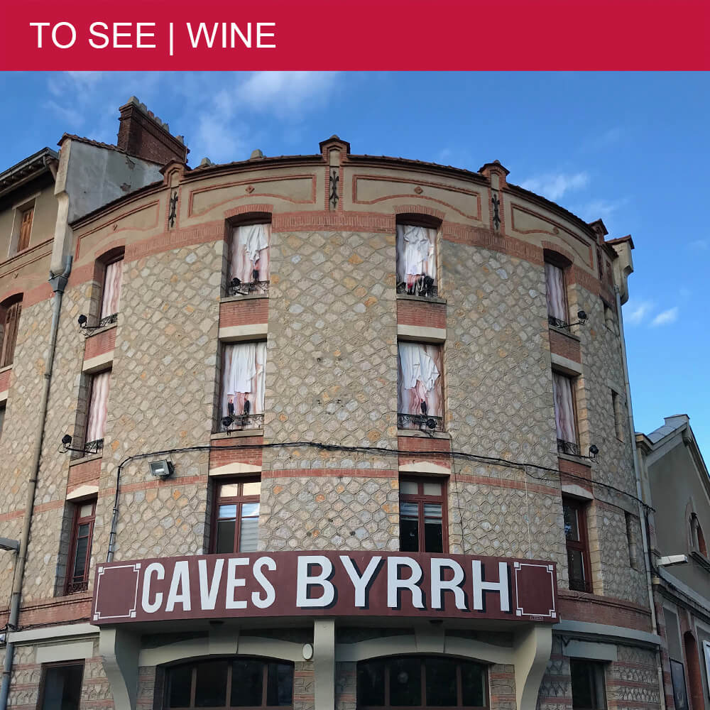 Why Les Caves Byrrh in Thuir have nothing to do with beer?