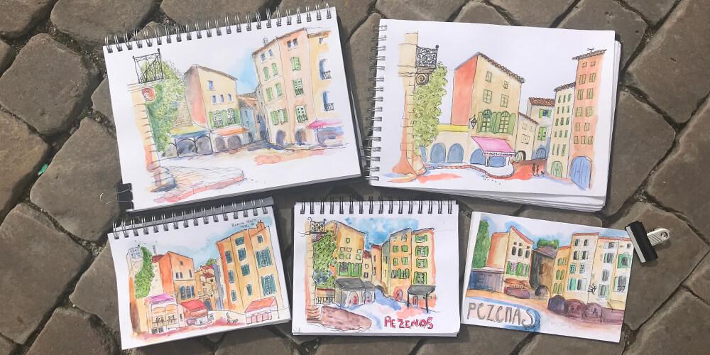 Sketch Languedoc