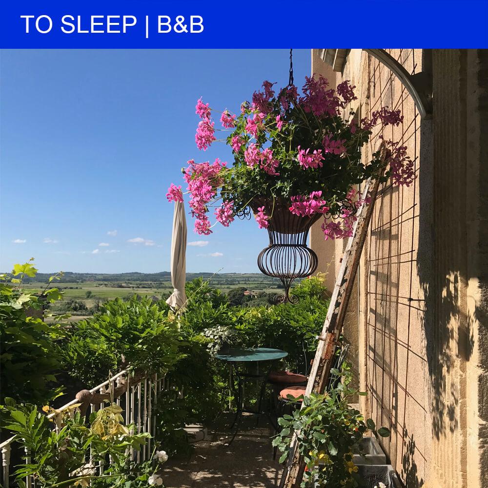 Charming Bed & Breakfast La Belle Vue in Neffiès