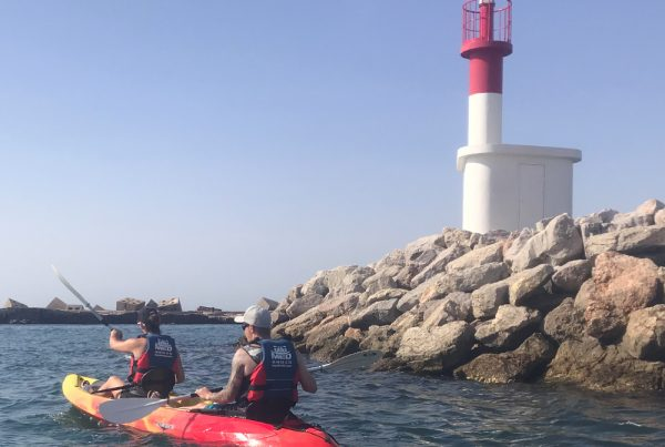 sea kayaking Sète