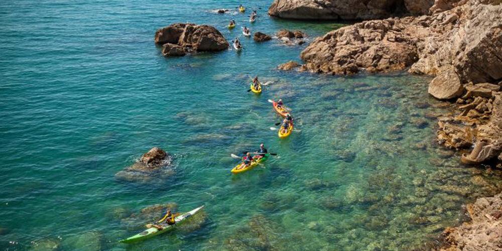 sea kayaking Sète
