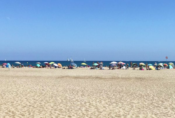 Languedoc beach
