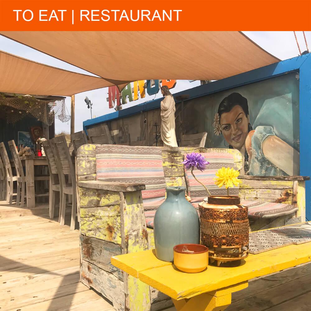Festive vibes at Mango's Beach Bar in Cap d'Agde