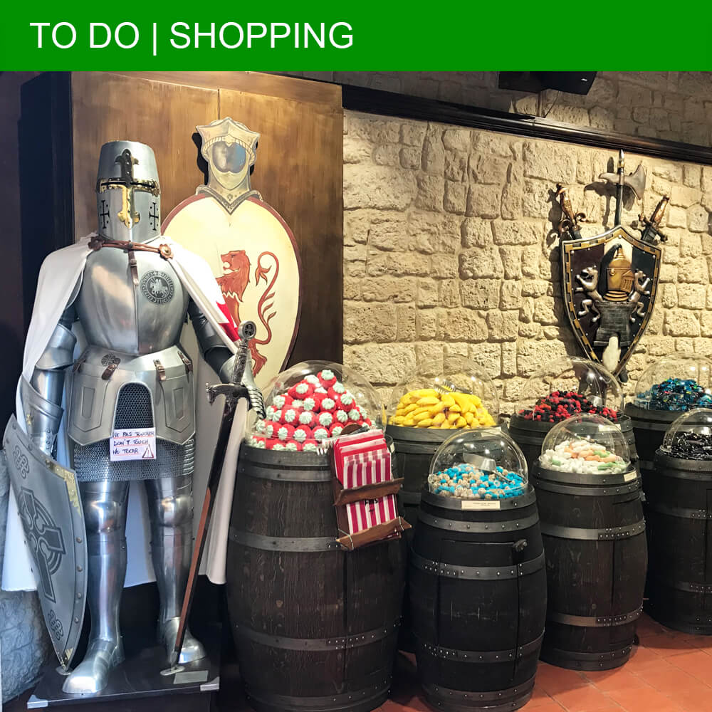 The Carcassonne shopping guide