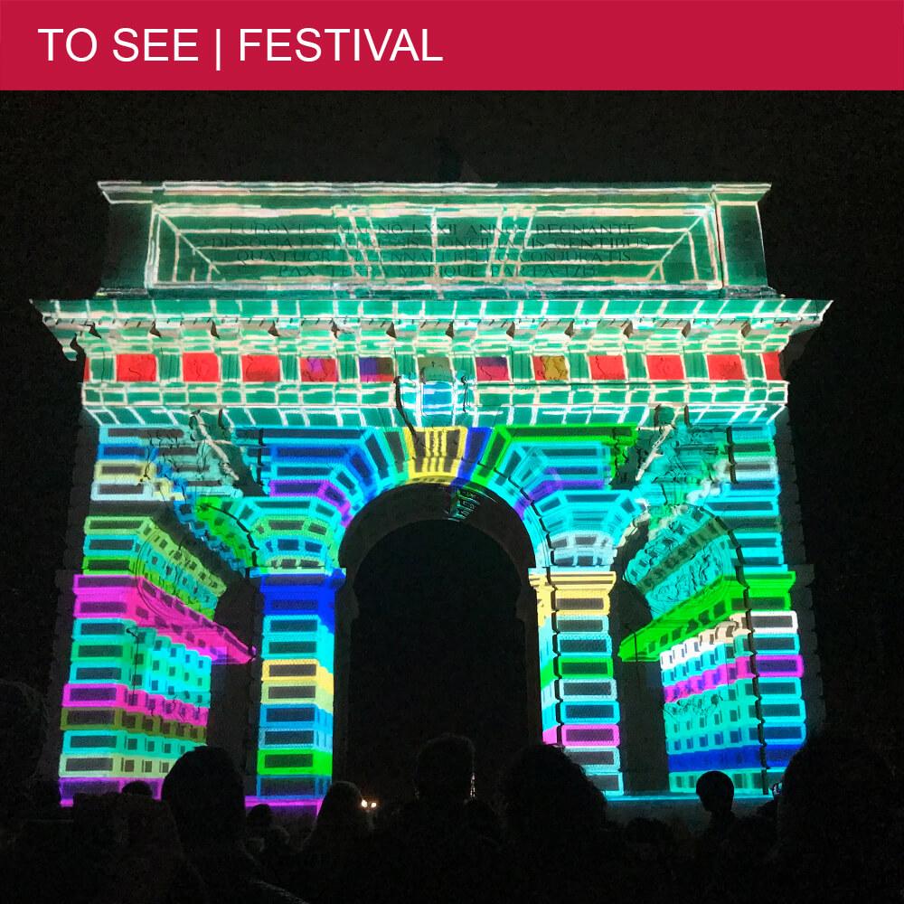 Montpellier's go-to light festival Cœur de Ville en Lumières