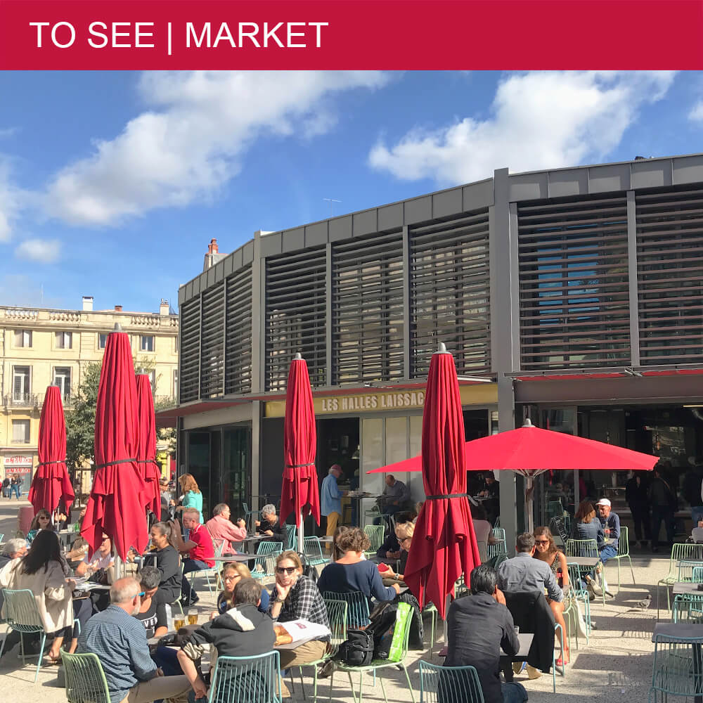 The dynamic Halles Laissac brighten up Montpellier