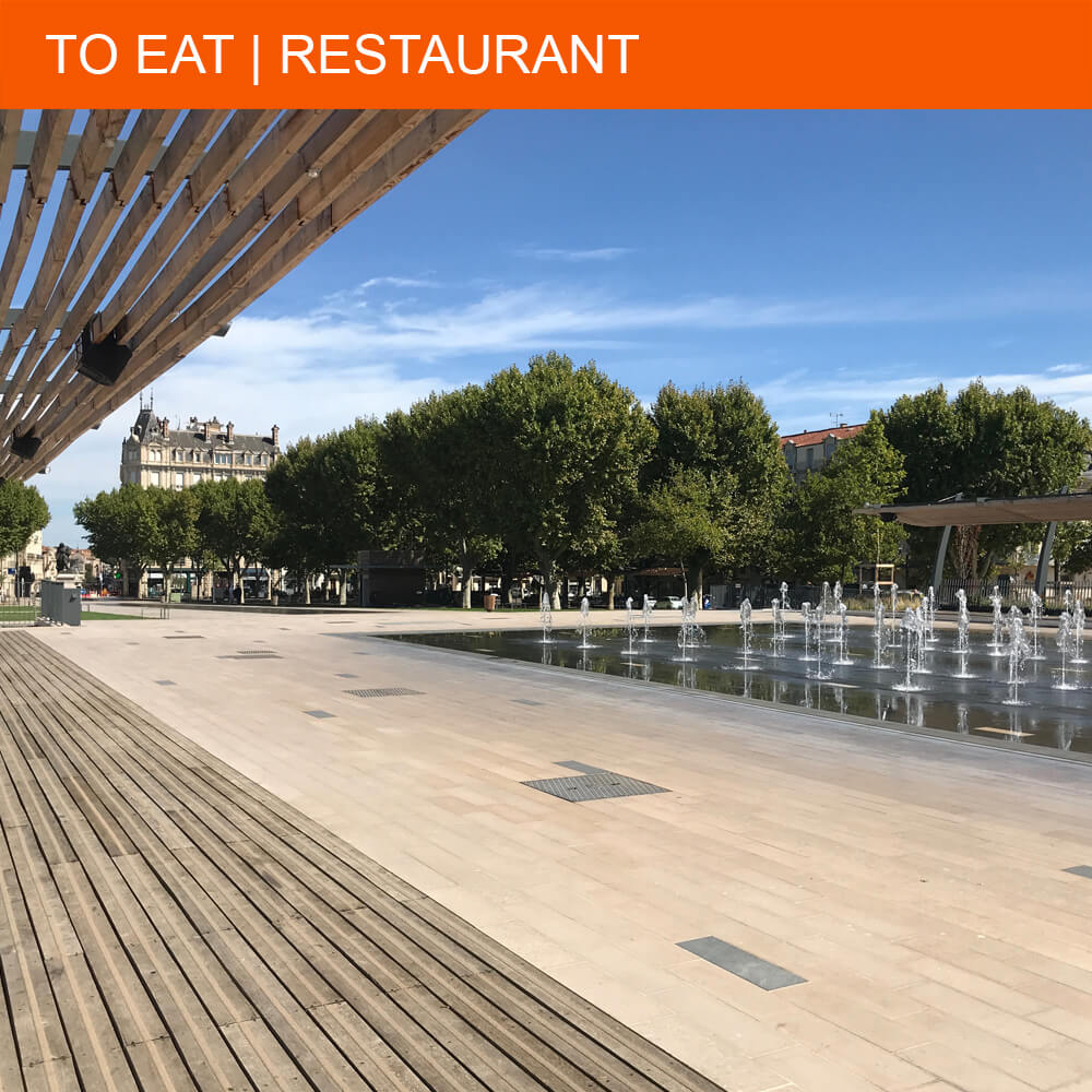 Top 5 favourite restaurants in Béziers
