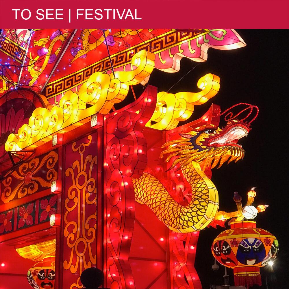 The Chinese 'Festival des Lanternes' illuminates Gaillac
