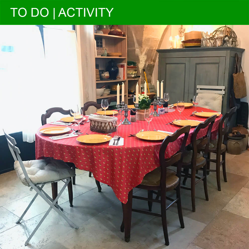 Le Pistou Cooking School in Uzès teaches French classics